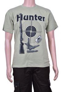 Тениска с щампа hunter мишена
