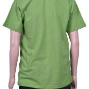 Тениска лакоста с яка и бродерия елен