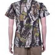 Камуфлажна тениска, зелена гора