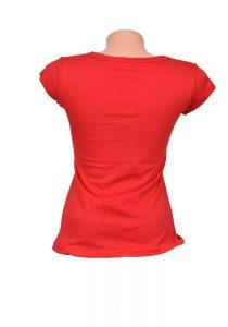 Дамска тениска HUNTER червена