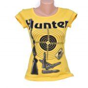дамска тениска HUNTER жълта