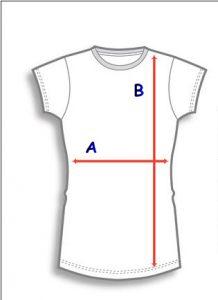 дамски тениски- размери