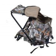 Раница със столче, камуфлаж