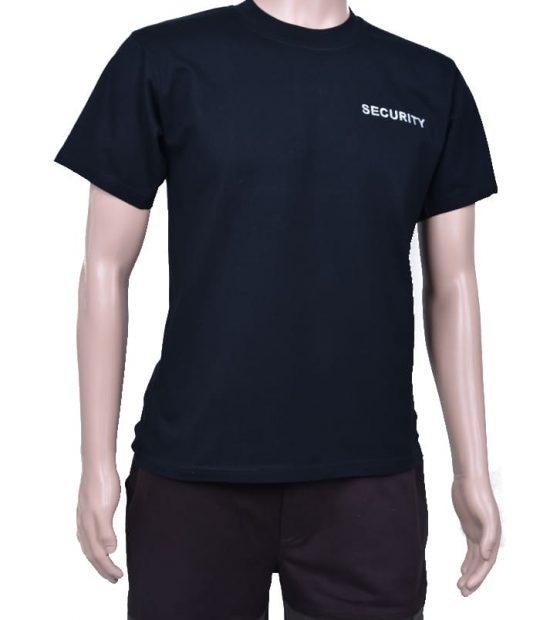 """Тениска с бродерия """"SECURITY"""""""
