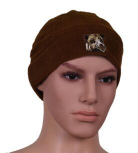 шапка полар кафява