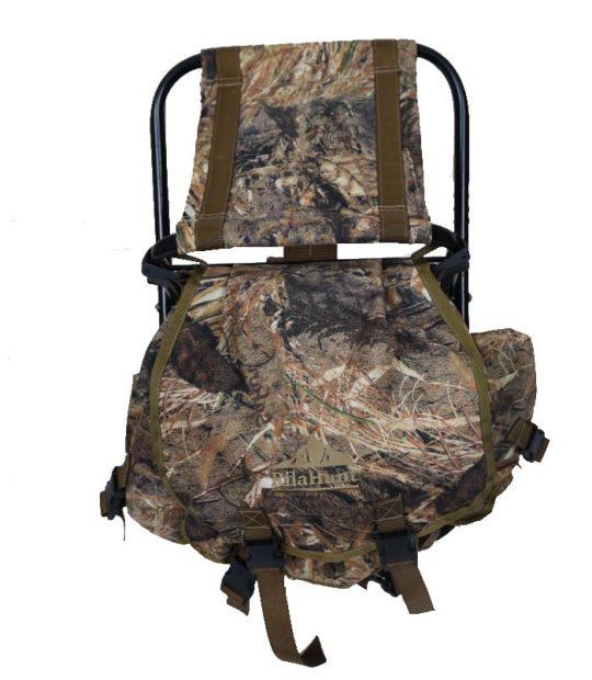Раница със столче, камуфлаж тръстика