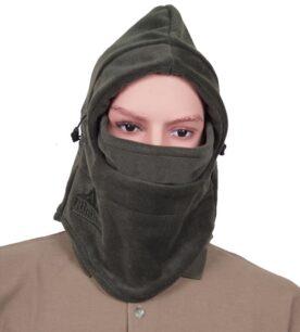 6apka-maska,zelena