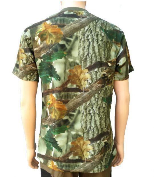 Ловна тениска камуфлаж – дигитален принт