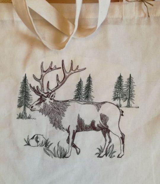 еко торбичка – елен