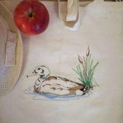 еко торбичка - патица