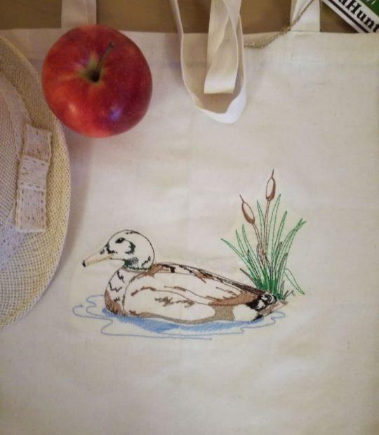 еко торбичка – патица