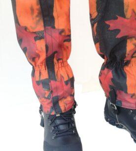 Гети, кордура - оранжев камуфлаж