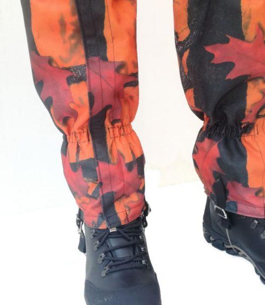 Гети, кордура – оранжев камуфлаж
